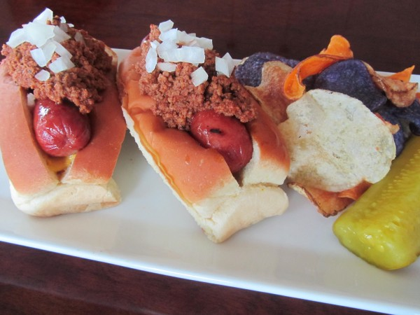 4th Of July Hot Dogs With Chili Sauce Karen Cromwell