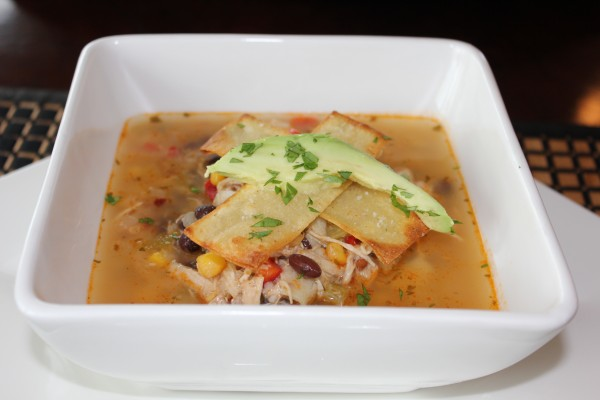 Spicy Chicken Tortilla Soup 001
